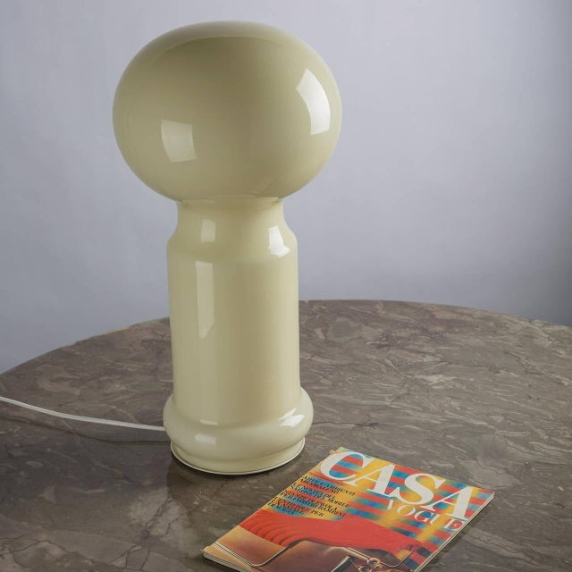 Yellow Table Lamp by Vistosi For Sale - Image 8 of 8