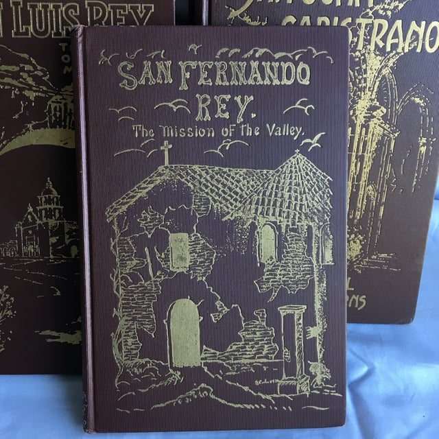 1921- 1931 California Missions Book Collection - Set of 6 For Sale - Image 11 of 13