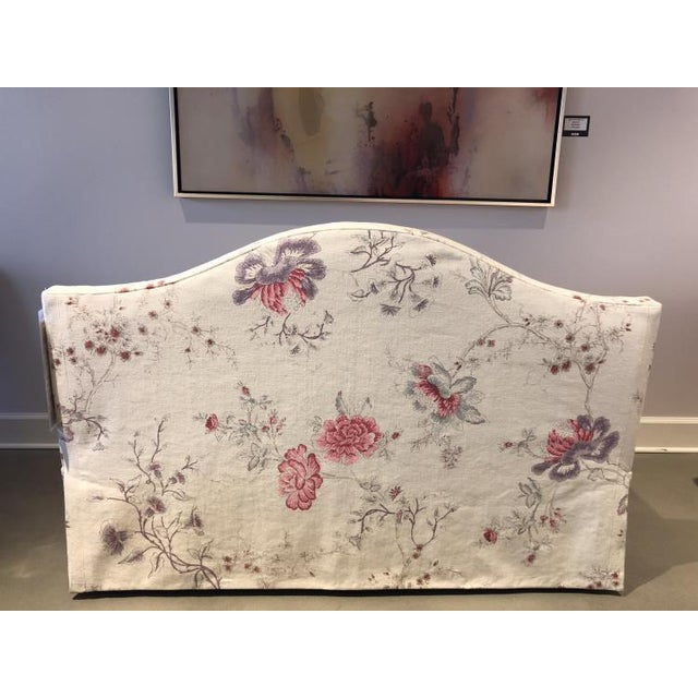 Century Furniture Charlotte Moss for Century Furniture Patti Skirted Settee For Sale - Image 4 of 5