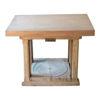 Primitive Cider Press Table For Sale