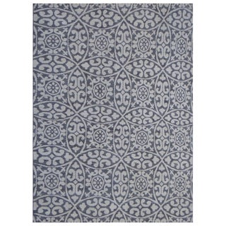 "Hand Knotted Natural Wool & Cotton Gabbeh Rug - 10'0"" X 13'4"""