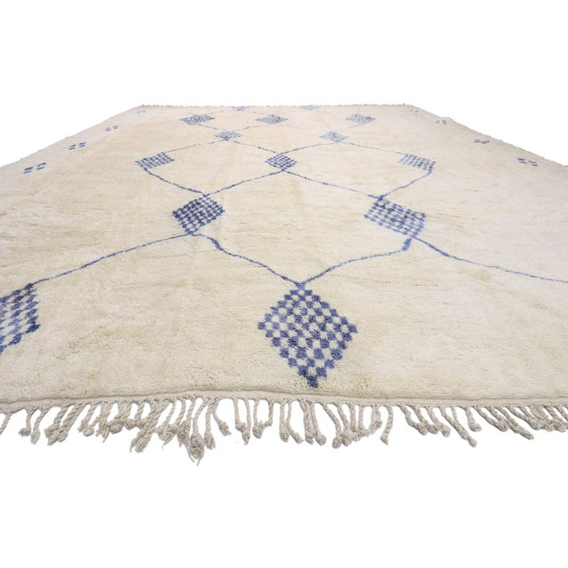 Boho Chic Contemporary Oversized Moroccan Rug - 16'10 X 19' For Sale - Image 3 of 9