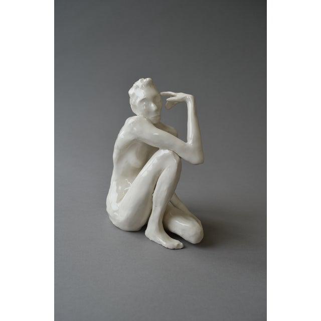 Ceramic Contemporary Ceramic Figurative Maquette For Sale - Image 7 of 10
