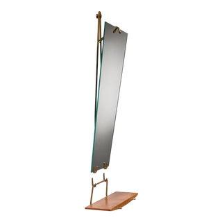 Carl Aubock Wall Mirror With Shelf, Austria, Circa 1950 For Sale