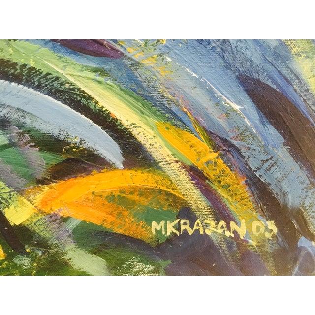 Original Expressionistic Impasto Painting - Image 6 of 8