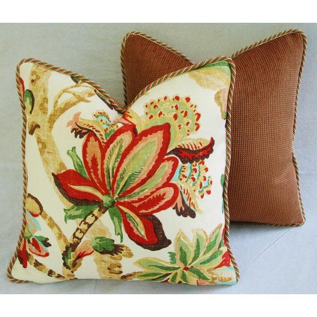 Custom Schumacher Kelmscott Manor Pillows - A Pair - Image 10 of 11