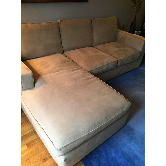 Room & Board York Sectional Sofa With Chaise Lounge - Image 7 of 11