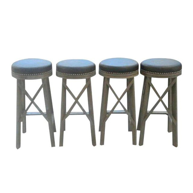 """Custom to Order """"Belly Up to the Bar"""" Collection Stools For Sale - Image 9 of 9"""