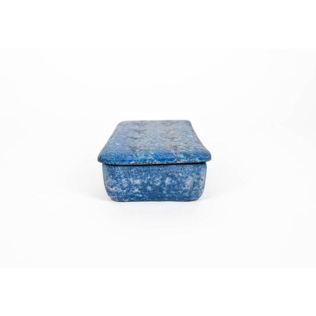Bitossi 1960s Mid Century Italian Bitossi Ceramic Box For Sale - Image 4 of 11