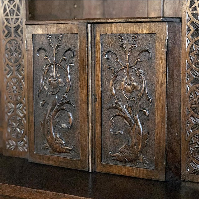 19th Century Renaissance Bookcase For Sale - Image 10 of 13