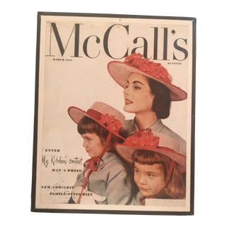 1951 Vintage McCall's Magazine Cover For Sale