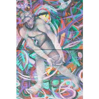 'Man in Motion' by Carrie Lederer For Sale