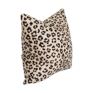 Contemporary Leopard Linen Pillow 20x20 Preview