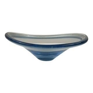 Holmegaard Selandia Bowl Signed by Per Lutken For Sale