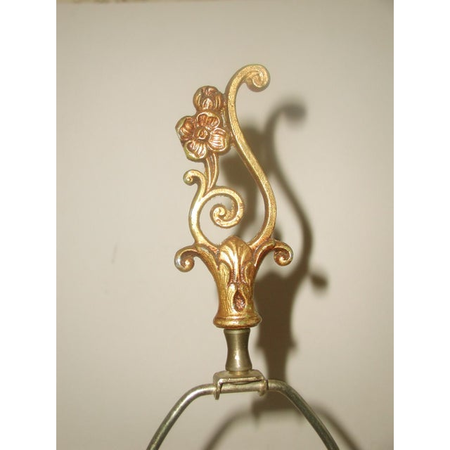 20th Century Rewired Italian Gilt Swag Lamps - 2 - Image 6 of 10