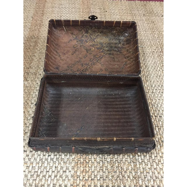 Mid 19th Century Antique Storage Basket For Sale - Image 6 of 12