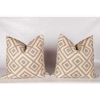 Gray David Hicks Fiorentina Pillows- A Pair Preview