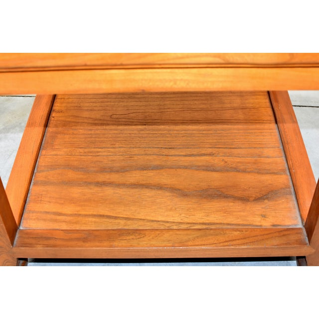 Chinese Solid Wood Coffee Table For Sale In Los Angeles - Image 6 of 13