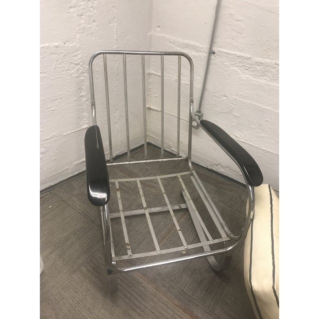 1930s Vintage Original Lloyd Chair Art Deco Spring Club Chair For Sale - Image 5 of 9