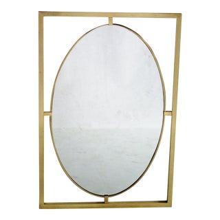 La Barge Brass Mirror For Sale
