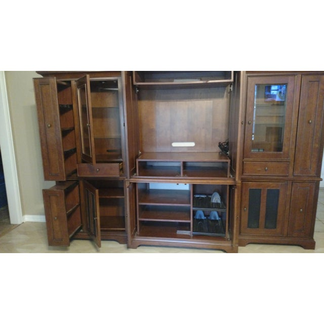 Riverside Furniture Wooden Entertainment Center - Image 3 of 5