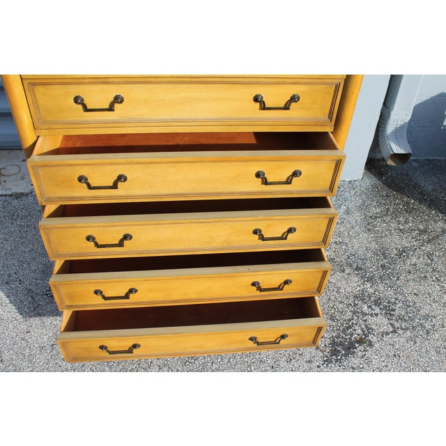 Mid-Century Italian Provincial 12 Drawer Dresser For Sale - Image 10 of 11