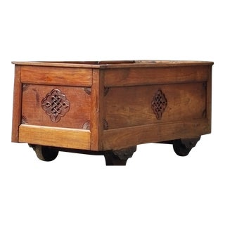 18th Century Georgian Mahogany Chest For Sale
