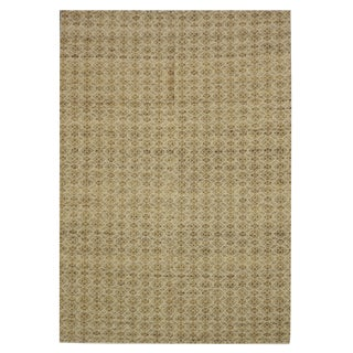 New Indian Kilim - 5′1″ × 8′1″ For Sale