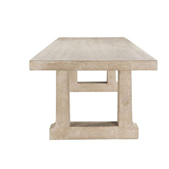 """Arts & Crafts Palmer 94"""" Dining Table For Sale - Image 3 of 6"""