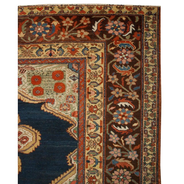 """Traditional Early 20th Century Bakhtiari Runner - 105"""" x 202"""" For Sale - Image 3 of 5"""