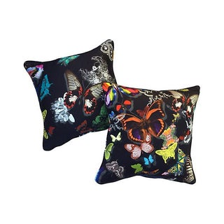 Christian Lacroix Butterfly Pillows - A Pair