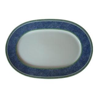 1990s Cottage Villeroy &Boch Serving Platter For Sale