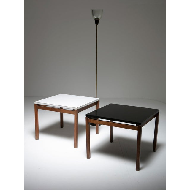 1950s Set of Two Side Tables by Florence Knoll for Knoll For Sale - Image 5 of 6