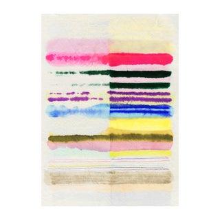 Kristi Kohut Sorbet Stripes Print For Sale