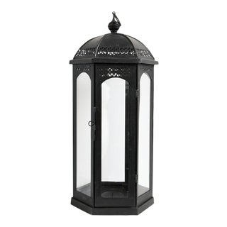 Ball Top Iron Lantern For Sale