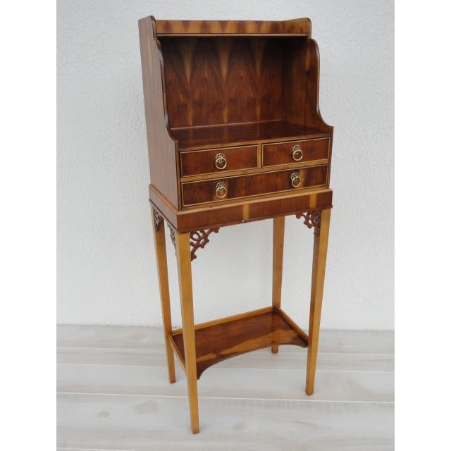 Baker Furniture Small Entryway Console Table Cabinet For Sale - Image 13 of 13