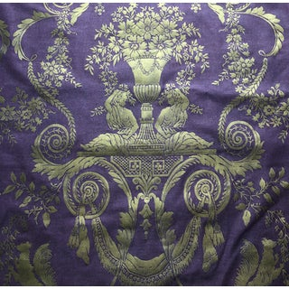 Fortuny Lamballe Pattern Fabric For Sale