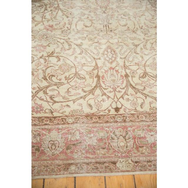 "Vintage Distressed Sivas Carpet - 8' x 10'10"" For Sale - Image 10 of 11"