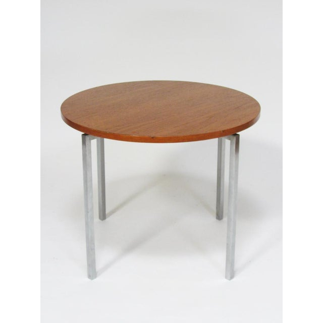 Knoll Florence Knoll side/ end table by Knoll For Sale - Image 4 of 8
