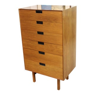 1950s Mid-Century Modern Milo Baughman for Arch Gordon Highboy Dresser For Sale