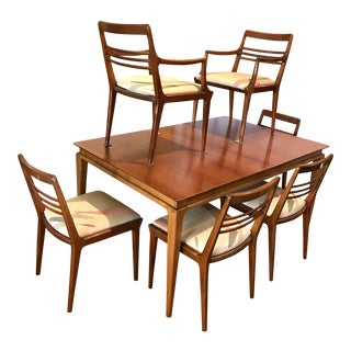 Mid-Century Renzo Rutili Dining Set - 7 Pieces For Sale