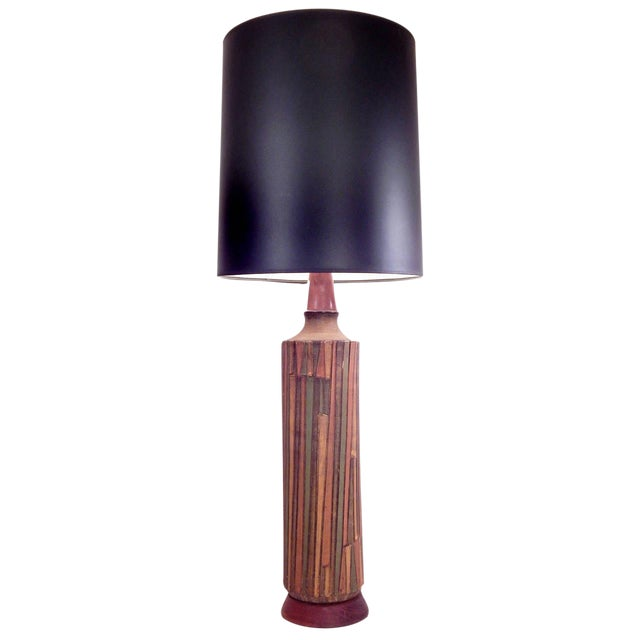 Tall Striking Aldo Londi Table Lamp - Image 9 of 10