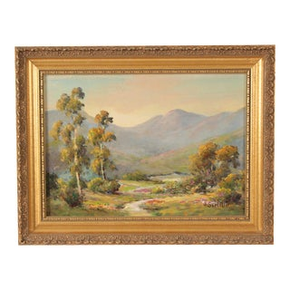 California Landscape Painting by Herbert Sartelle For Sale