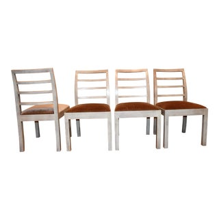 Thomas O'Brien Dara Ladder Back Dining Chairs - Set of 4 For Sale