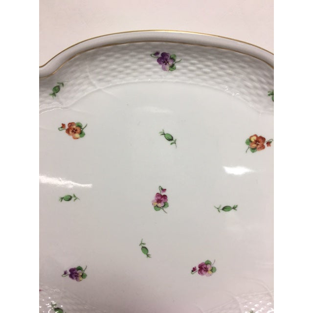 Herend Printemps Oval Ribbon Tray - Image 4 of 7