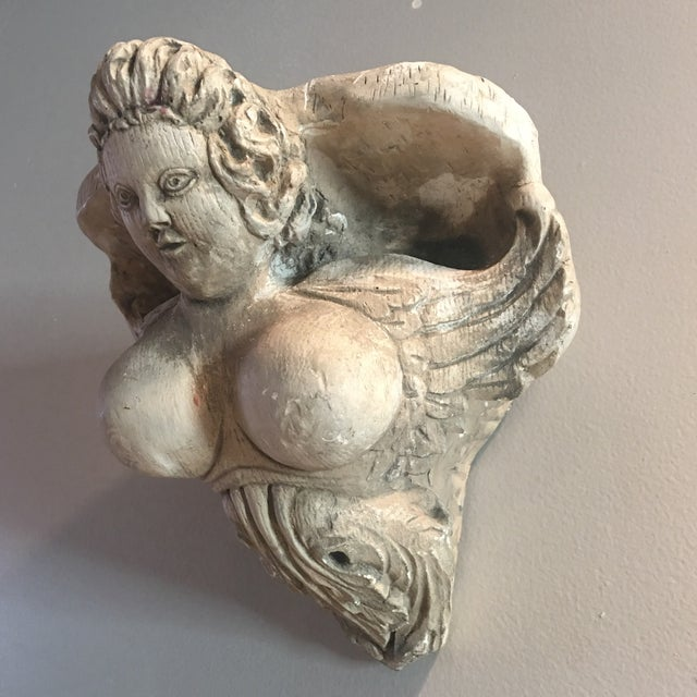 Hand Carved Buxom Figurehead Wall Mount - Image 4 of 9