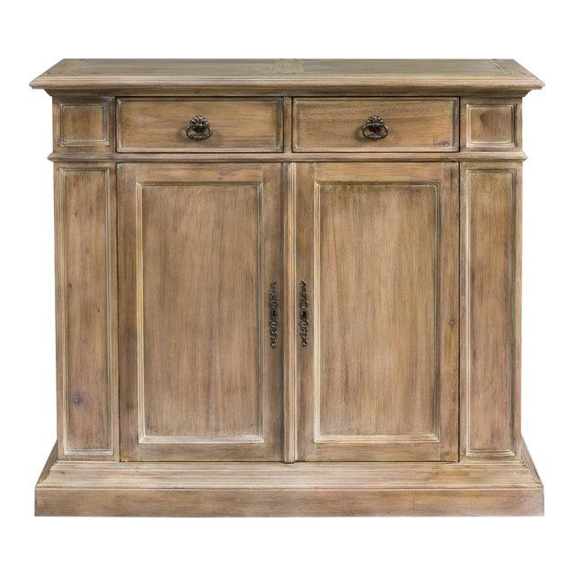 Sarreid Ltd. Transitional Mahogany Cabinet - Image 1 of 4