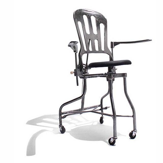 1930s Vintage Adjustable Dental Chair - Image 2 of 8