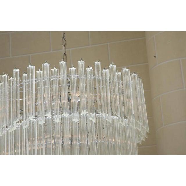 Venetian Crystal Drop Chandelier For Sale In West Palm - Image 6 of 6