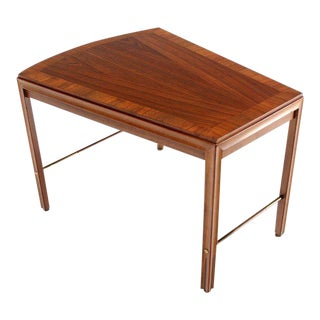 Mid-Century Modern Solid Walnut Side or Coffee Table For Sale